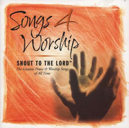 Songs 4 Worship: Shout To The Lord CD  - Slightly Imperfect  -