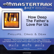 How Deep The Father's Love For Us (Key-G-A-Premiere Performance Plus w/o Background Vocals)  [Music Download] -     By: Phillips Craig & Dean