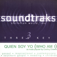 Quien Soy Yo (Who Am I), Accompaniment CD   -     By: Casting Crowns