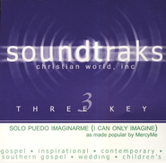 Solo Puedo Imaginarme (I Can Only Imagine), Accompaniment CD   -              By: MercyMe