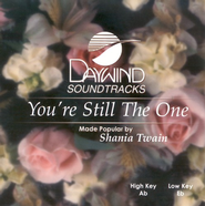You're Still The One, Accompaniment CD   -     By: Shania Twain