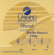 Shout, Accompaniment CD   -     By: Martha Munizzi