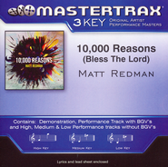 10,000 Reasons (Bless the Lord) Acc, CD  -              By: Matt Redman