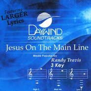 Jesus On The Main Line, Accompaniment CD   -     By: Randy Travis