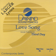 Love Song, Accompaniment CD   -     By: Third Day