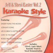 Jeff & Sheri Easter, Volume 2, Karaoke Style CD   -