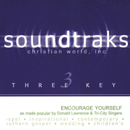 Encourage Yourself, Accompaniment CD   -     By: Donald Lawrence, The Tri-City Singers