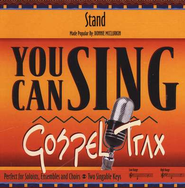 Stand, Accompaniment CD   -     By: Donnie McClurkin