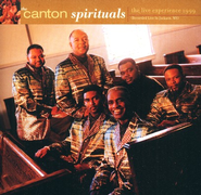 The Live Experience 1999 CD   -     By: Canton Spirituals