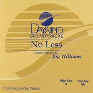 No Less, Accompaniment CD   -     By: Joy Williams