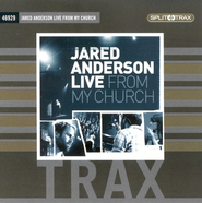 Live From My Church, CD Trax   -     By: Jared Anderson