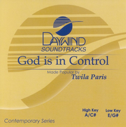 God Is In Control, Accompaniment CD   -     By: Twila Paris