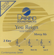 You Reign, Accompaniment CD   -     By: Mercy Me
