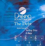 The Debt, Accompaniment CD   -     By: The Talley Trio