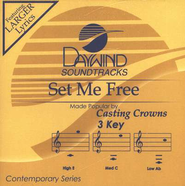 Set Me Free, Accompaniment CD   -     By: Casting Crowns