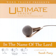 In The Name Of The Lord - Medium key performance track w/o background vocals  [Music Download] -     By: Sandi Patty