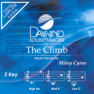 The Climb, Accompaniment CD   -     By: Miley Cyrus