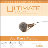 You Raise Me Up - High key performance track w/o background vocals [original key]  [Music Download] -     By: Selah
