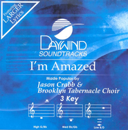 I'm Amazed, Accompaniment CD   -     By: Jason Crabb, Brooklyn Tabernacle Choir