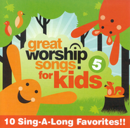Great Worship Songs for Kids, Volume 5 CD   -     By: Kids Praise Band