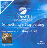 Something's Happening, Accompaniment CD   -              By: Mercy's Mark