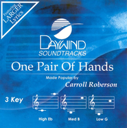 One Pair Of Hands, Accompaniment CD     -     By: Carroll Roberson