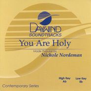 You Are Holy, Accompaniment CD   -     By: Nichole Nordeman