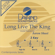 Long Live The King, Accompaniment CD   -     By: Aaron Shust
