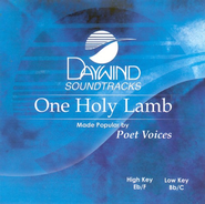 One Holy Lamb, Accompaniment CD   -     By: Poet Voices