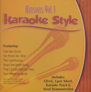 The Hinsons, Volume 1, Karaoke Style CD   -