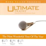 It's The Most Wonderful Time Of The Year - Medium key performance track w/ background vocals  [Music Download] -