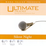 Silent Night - Medium key performance track w/ background vocals  [Music Download] -