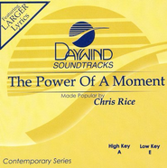 The Power Of A Moment, Accompaniment CD   -     By: Chris Rice