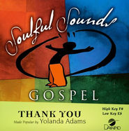 Thank You, Accompaniment CD   -     By: Yolanda Adams