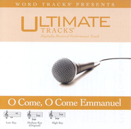 O Come, O Come Emmanuel - Medium key performance track w/ background vocals  [Music Download] -