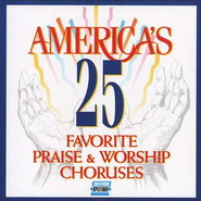 America's 25 Favorite Praise & Worship, Volume 1, Split-Trax CD   -