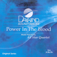 Power in the Blood, Accompaniment CD   -              By: All Star Quartet