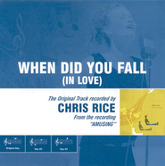 When Did You Fall (In Love), Accompaniment CD   -     By: Chris Rice