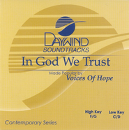 In God We Trust, Accompaniment CD   -     By: Voices of Hope