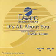 It's All About You, Accompaniment CD   -     By: Rachael Lampa