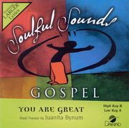 You Are Great, Accompaniment CD   -     By: Juanita Bynum
