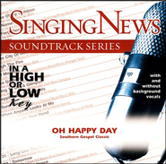 Oh Happy Day, Accompaniment CD   -