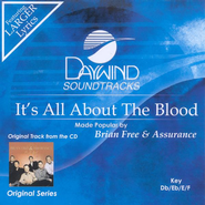 It's All About the Blood, Accompaniment CD   -     By: Brian Free & Assurance