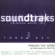 Preach The Word, Accompaniment CD   -              By: Gold City Quartet