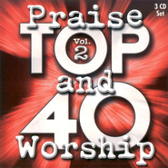 Top 40 Praise & Worship, Volume 2, 3 CD Set   -