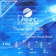 These Are They, Accompaniment CD   -     By: Gaither Vocal Band