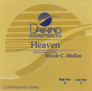 Heaven, Accompaniment CD   -     By: Nicole C. Mullen