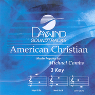 American Christian, Accompaniment CD   -     By: Michael Combs