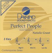 Perfect People, Accompaniment CD   -     By: Natalie Grant