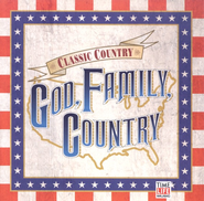 God, Family, Country CD   -